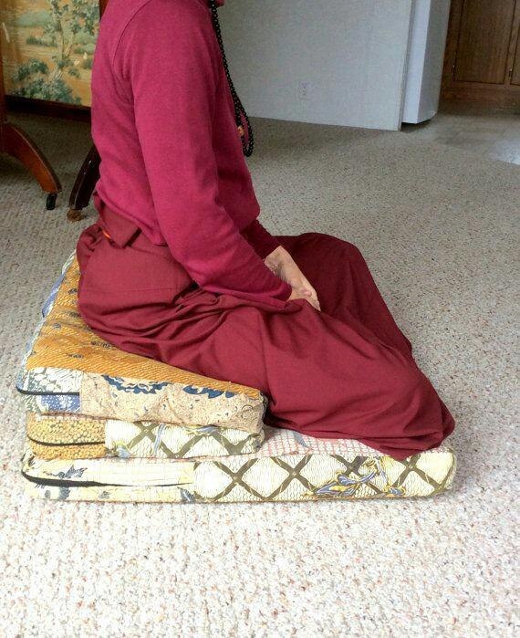 Meditation cushion seating