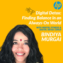 Digital Detox Webinars by Bindiya Murgai
