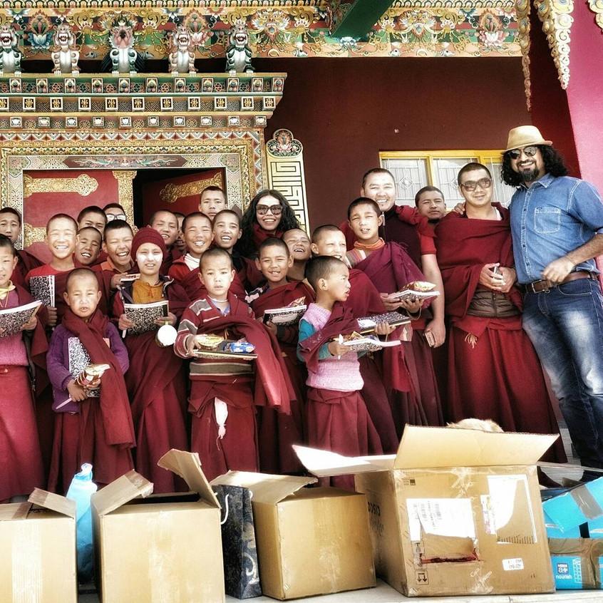 Sakya Monastery, Kaza, Spiti, Himalayas, India