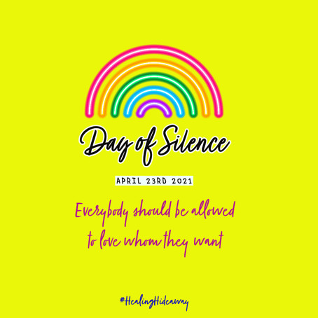 Day of Silence for everyone's right to love