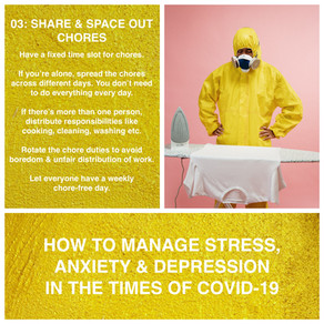 How to manage stress, anxiety and depression in the time of Covid-19