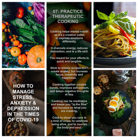How to manage stress, anxiety & depression in the times of COVID-19