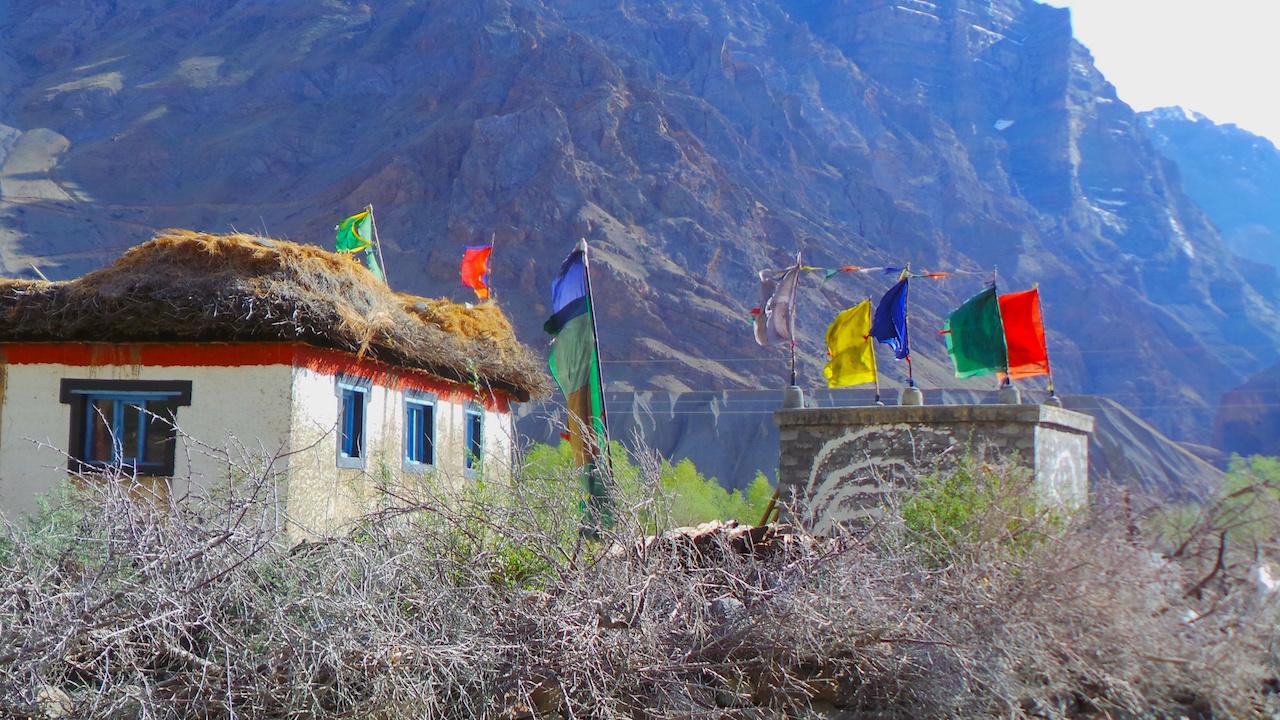 Kaza, Spiti Valley, Himalayas, India