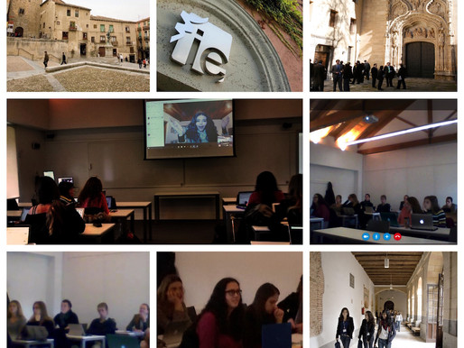 Interactive lectures on mental health, with IE University, Spain