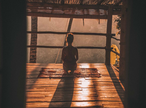 The difference between guided and non guided meditation.