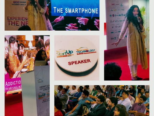 Digital Detox Talk at Vibrant Gujarat Startup and Technology Summit