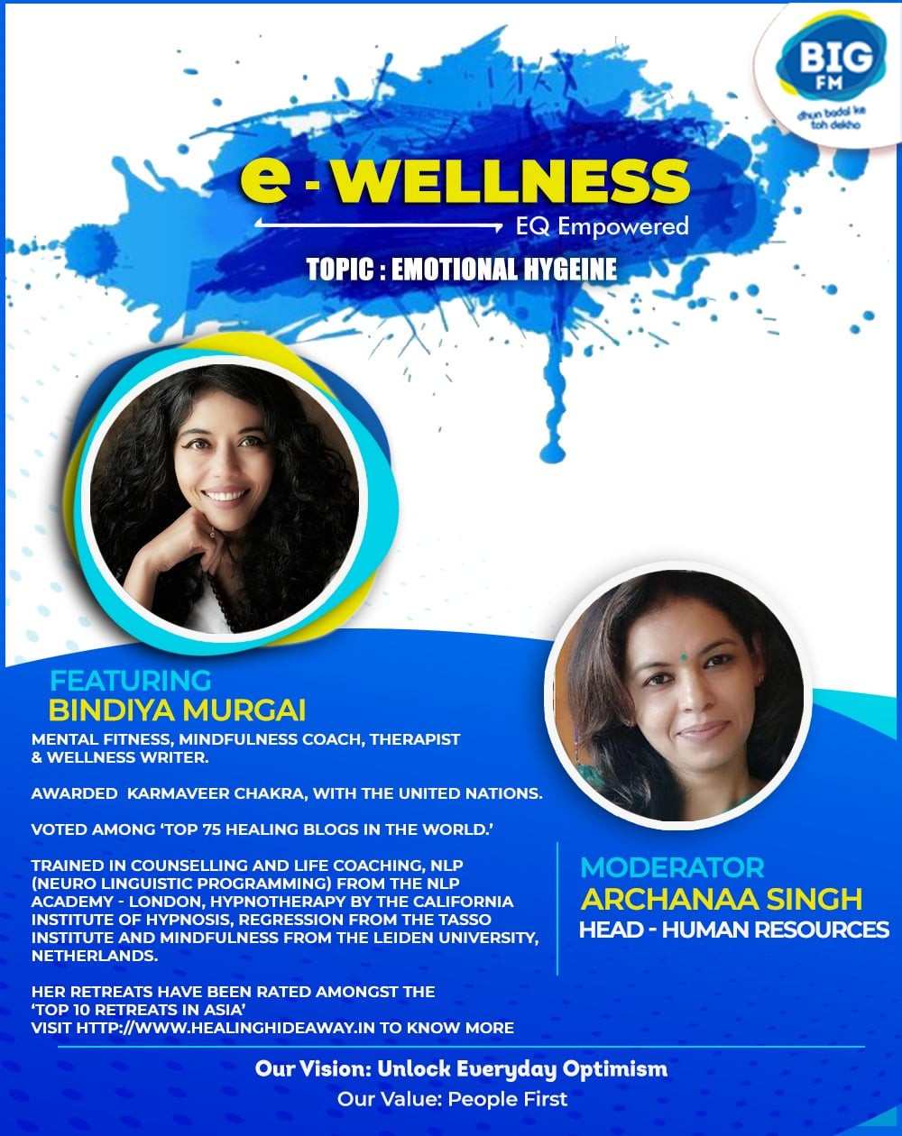 Workshops and seminars that help you cultivate the practice of emotional hygiene.