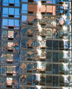 'Tall window reflection'