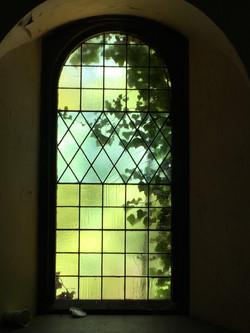 Antique Spring Window