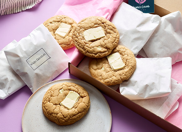 White Chocolate Chunk Cookies - Box of 12