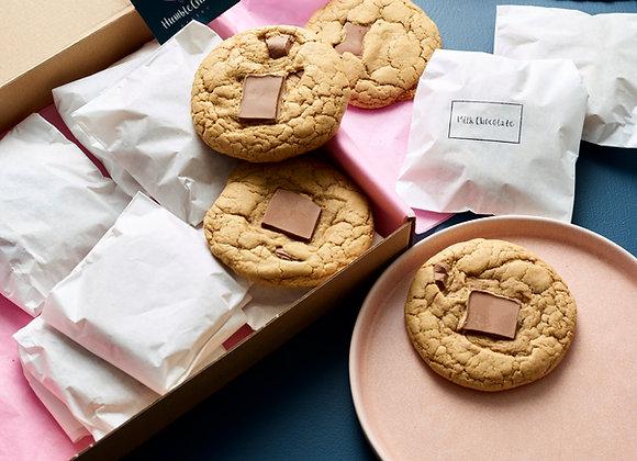Milk Chocolate Chunk Cookies - Box of 6