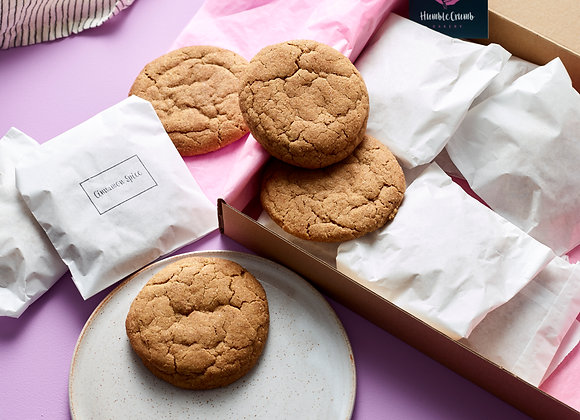Cinnamon Spice Cookies - Box of 6