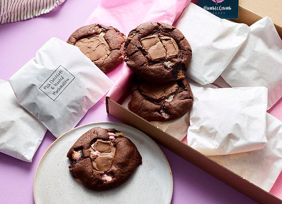 Milk Chocolate Chunk & Toasted Marshmallow Cookies - Box of 12