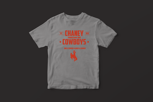 Once A Cowboy Chaney Tee