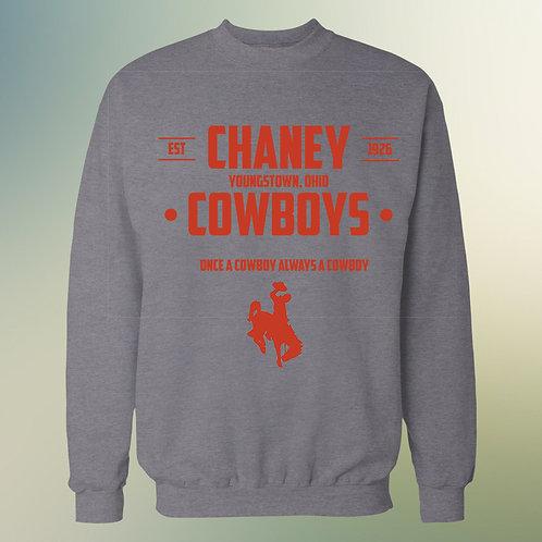 Once A Cowboy Chaney Crewneck