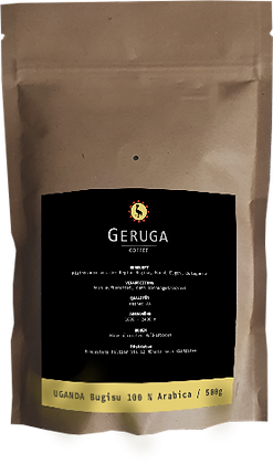 GERUGA Coffee - 100% Uganda Arabica - 500g