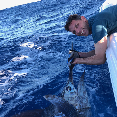 Gold Coast Blue Marlin charters with Unelashed Sportfishing!