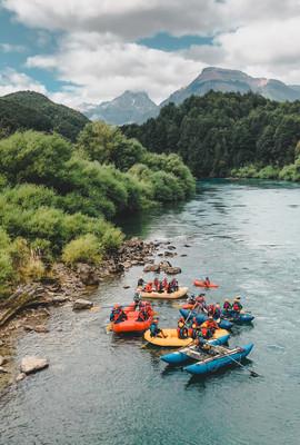 Rafting junto a Orígenes Patagonia