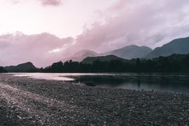 Vista al Río Palena