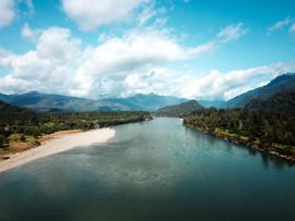 Vista Aérea río Palena