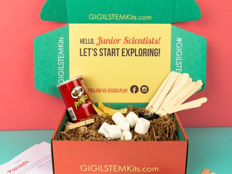 """April STEM Kit - """"Let's Build"""""""