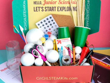 """July STEM Subscription Box for Kids - """"Reach For The Stars!"""""""