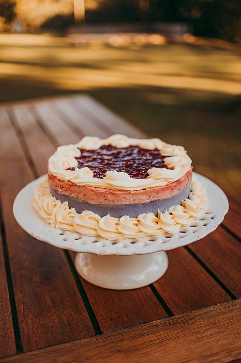 Torta de Frutas Vermelhas