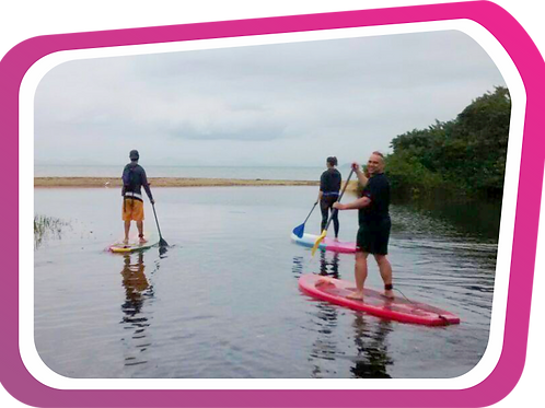Costeira de Zimbros com SUP (Stand Up Paddle)