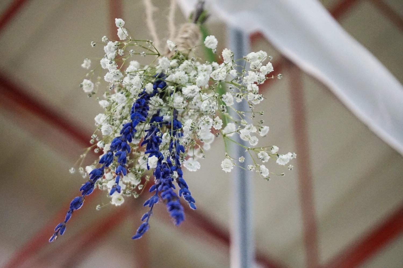 Aribalo Cosmética flores secas