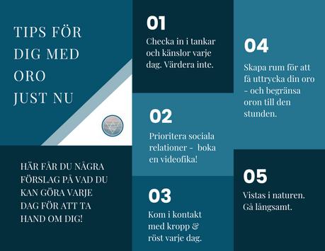 5 tips för dig med oro