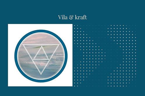 Meditation: Vila & kraft MP3