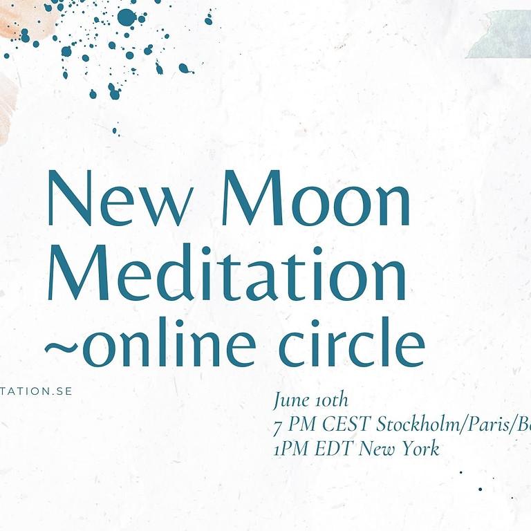 New Moon Meditation ~ online