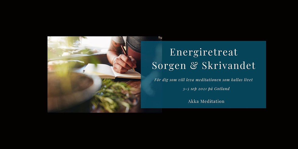 Energiretreat Sorgen & skrivandet