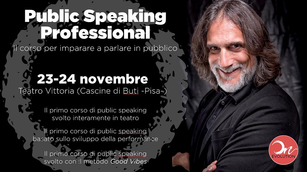 Public Speaking Professional