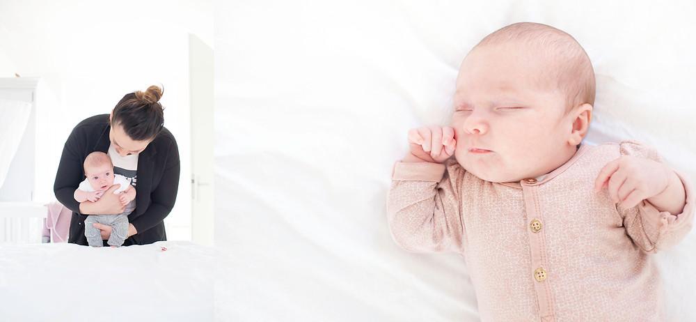 baby, babygirl, newbornshoot, newbornlifestyle, babyfotografie, lifestylefotografie, arnhem, fotograaf Arnhem