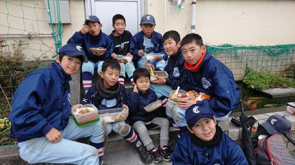 親子野球、お楽しみ会