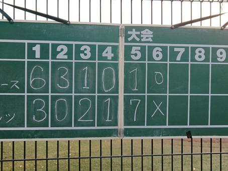 中野区少年野球連盟壮行大会準決勝