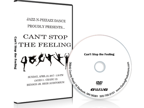 Jazz-N-Pizzazz Dance, Can't Stop the Feeling 2017