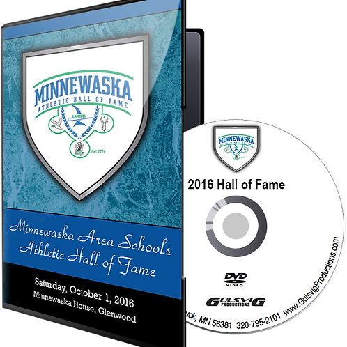 Minnewaska Athletic Hall of Fame 2016