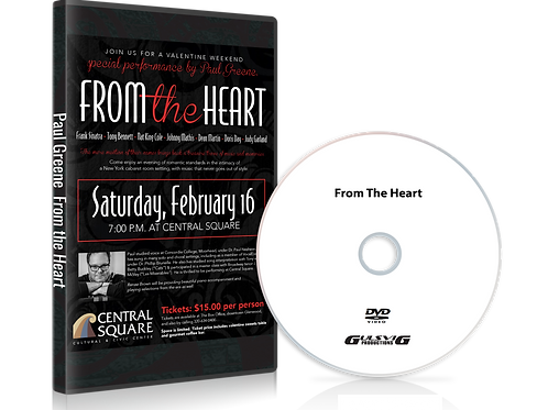 Paul Greene From The Heart DVD