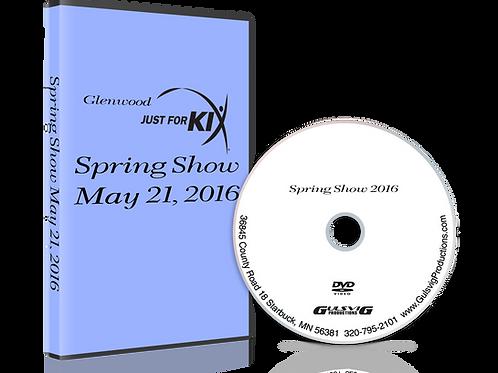 Glenwood Just For Kix Spring Show 2016