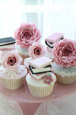Peony Cupcakes