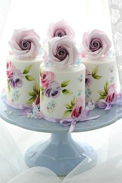 Handpainted Minicakes