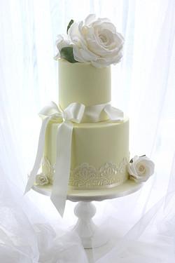 Old English Roses - White