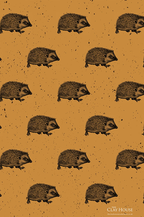 Hedgehog Tea Towel 3