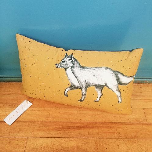 Oblong Fox Cushion