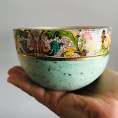 Small decal bowl
