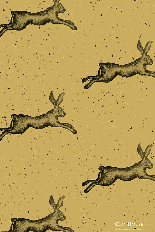 Hare Tea Towel 2