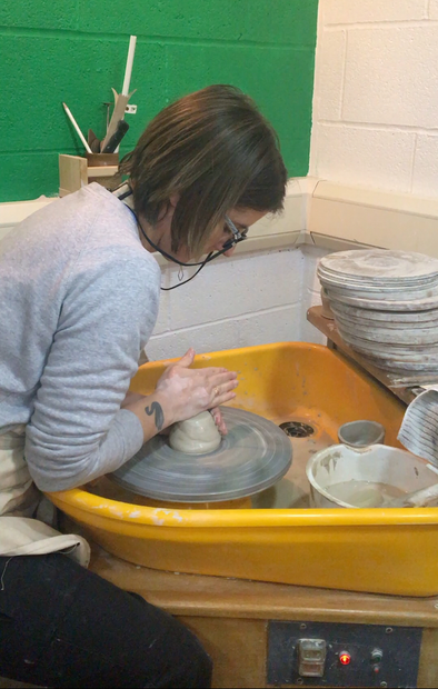 On the potters wheel