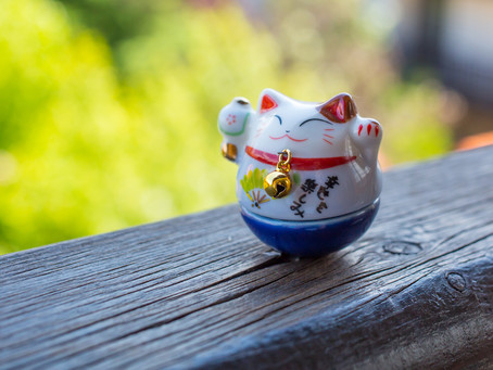 What's the Secret Behind the Famous Lucky Cat Figurine?